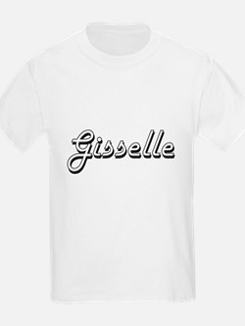 Gisselle Classic Retro Name Design T-Shirt