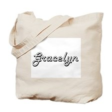 Gracelyn Classic Retro Name Design Tote Bag
