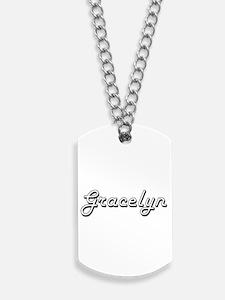 Gracelyn Classic Retro Name Design Dog Tags