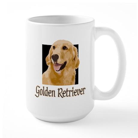 Golden Retriever Large Mug