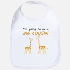 Im Going To Be A Big Cousin Bib
