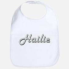 Hailie Classic Retro Name Design Bib