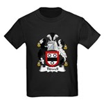 Tidwell Family Crest Kids Dark T-Shirt