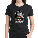 Tidwell Family Crest Women's Dark T-Shirt