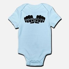 Thug Life Knuckle Tattoo (Distressed) Body Suit