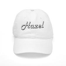 Hazel Classic Retro Name Design Baseball Baseball Cap