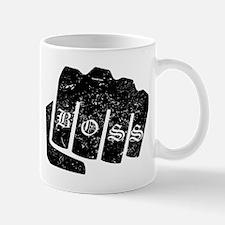 Boss Knuckle Tattoo (Distressed) Mugs