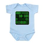 Computer Geek Binary Infant Creeper