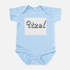 Itzel Classic Retro Name Design Body Suit