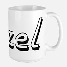 Itzel Classic Retro Name Design Mugs