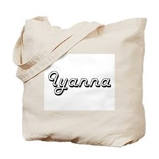 Iyanna Classic Retro Name Design Tote Bag