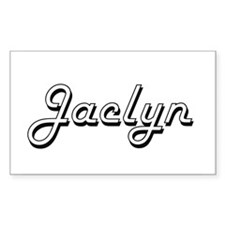 Jaclyn Classic Retro Name Design Decal