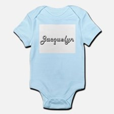 Jacquelyn Classic Retro Name Design Body Suit