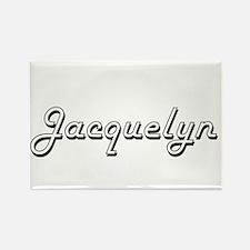Jacquelyn Classic Retro Name Design Magnets