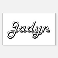 Jadyn Classic Retro Name Design Decal