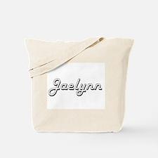 Jaelynn Classic Retro Name Design Tote Bag