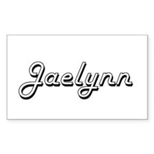 Jaelynn Classic Retro Name Design Decal