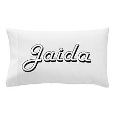 Jaida Classic Retro Name Design Pillow Case