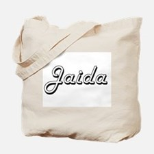 Jaida Classic Retro Name Design Tote Bag