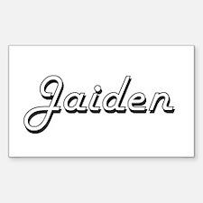 Jaiden Classic Retro Name Design Decal
