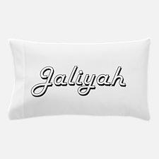 Jaliyah Classic Retro Name Design Pillow Case