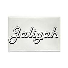 Jaliyah Classic Retro Name Design Magnets