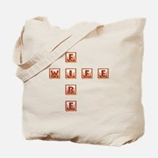 FIRE WIFE Tote Bag