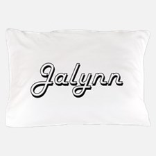 Jalynn Classic Retro Name Design Pillow Case