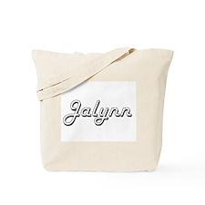 Jalynn Classic Retro Name Design Tote Bag