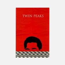 Agent Cooper - Twin Peaks Rectangle Magnet