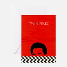 Agent Cooper - Twin Peaks Greeting Card