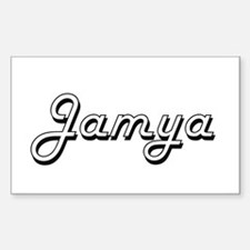 Jamya Classic Retro Name Design Decal