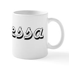 Janessa Classic Retro Name Design Mug