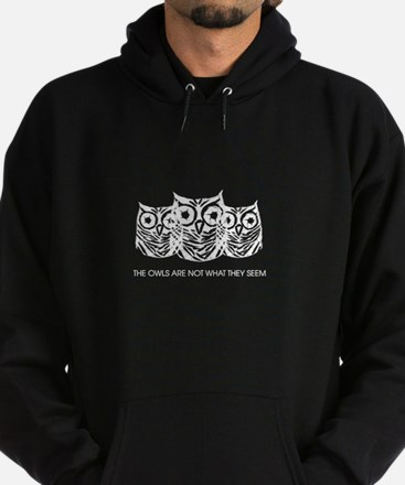 """The Owls..."" - Twin Peaks Hoodie (dark)"