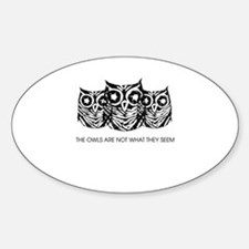 """The Owls..."" - Twin Peaks Decal"