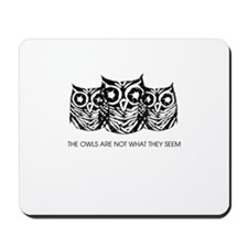 """The Owls..."" - Twin Peaks Mousepad"