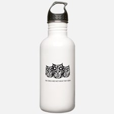 """""""The Owls..."""" - Twin P Water Bottle"""