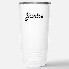 Janice Classic Retro Na Travel Mug
