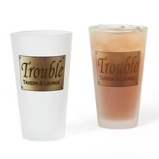 Cute Troubled Drinking Glass