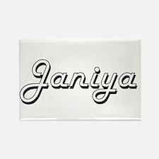 Janiya Classic Retro Name Design Magnets
