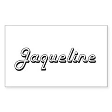 Jaqueline Classic Retro Name Design Decal