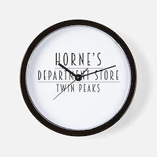 Horne's Dept. Store - Twin Peaks Wall Clock