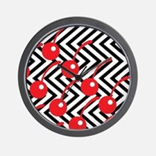Black Lodge Cherries - Twin Peaks Wall Clock