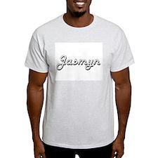 Jasmyn Classic Retro Name Design T-Shirt