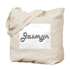 Jasmyn Classic Retro Name Design Tote Bag