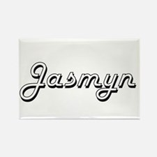 Jasmyn Classic Retro Name Design Magnets