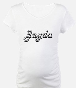 Jayda Classic Retro Name Design Shirt