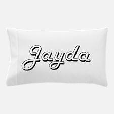 Jayda Classic Retro Name Design Pillow Case