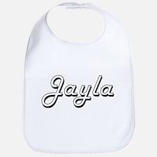 Jayla Classic Retro Name Design Bib