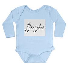 Jayla Classic Retro Name Design Body Suit
